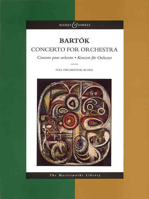 Concerto for Orchestra By Bartok, Bela